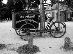 the french bicycle sign (Anitab) Tags: france advertising versailles
