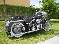 2008 Softail (SideWalk Custom) Tags: miami deluxe wheels pipes bikes harley rims davidson fatboy aps 305 ciber21 sidewalkcustoms saoftail