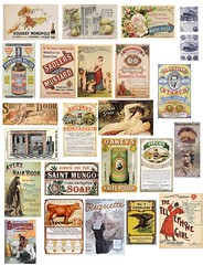 Vintage Ads 5 (PaperScraps) Tags: collage mixedmedia free vintageads collagesheet freetouse