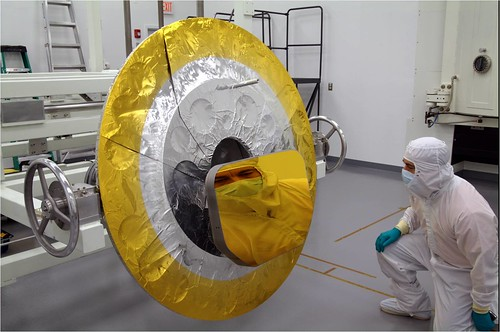 Webb Telescope Tertiary Mirror