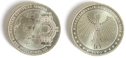10 Euros, Alemania 2003