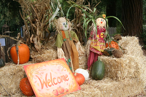 Harvest Faire Welcome Display