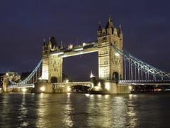 Tower Bridge, London, UK (Sir Francis Canker Photography ) Tags: uk trip travel bridge sunset england panorama reflection london tower tourism monument westminster architecture night square landscape puente twilight arquitectura europa europe torre tour view shot britain dusk monu