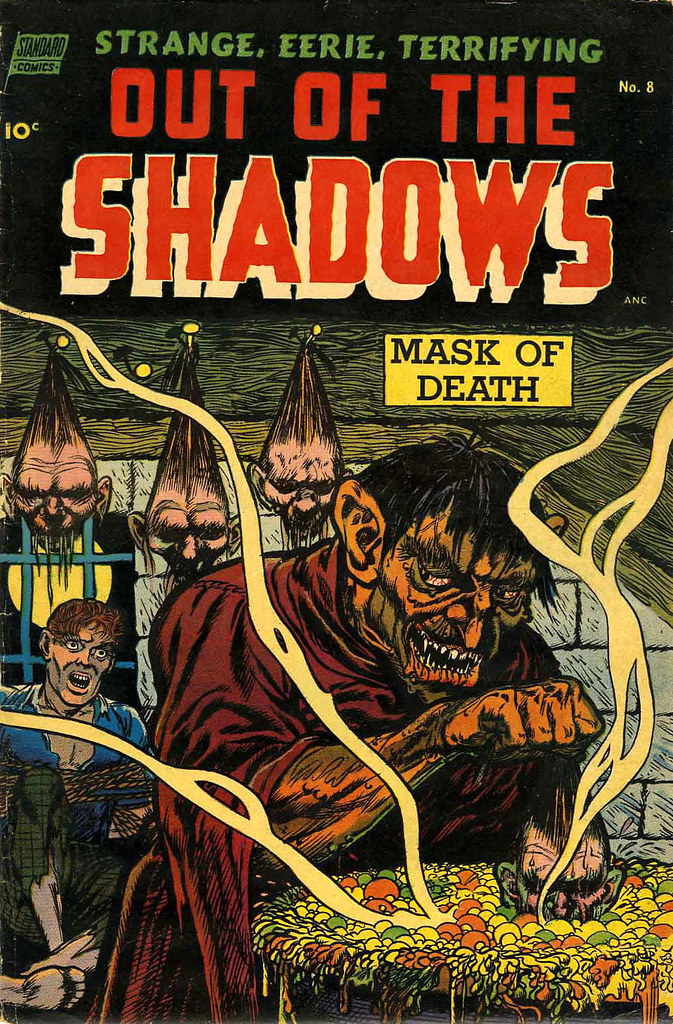 Out Of The Shadows #8 Jack Katz Cover Art (Standard, 1953)