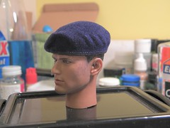 BERET FLOCKING TUTORIAL STEP 8