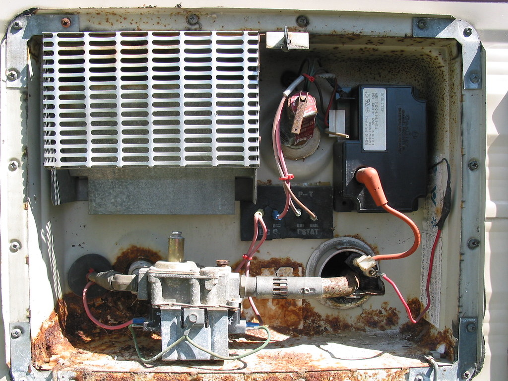 Hot Water Heater Dies of Old Age