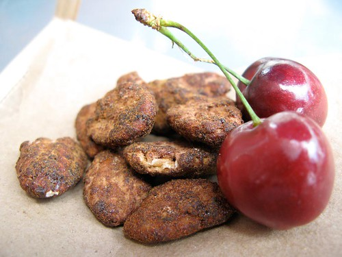 Cinnful Coco Pecans and Fresh Cherries. Fox & Obel.jpg