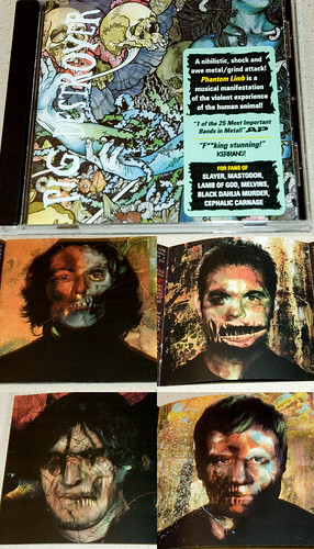 my photos in the new pig destroyer album, phantom limb.