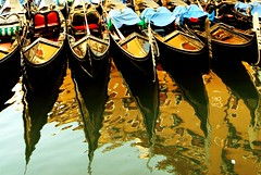 Adagio (cuellar) Tags: venice color reflection cuellar venecia venezia abstrat gondolas abigfave ultimateshot