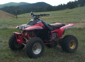 Yamaha Warrior  Weight
