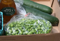 Honey, Peas and Cucumbers