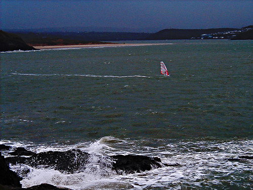 The Lone Windsurfer