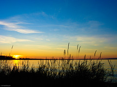 summer night - sunset (noelboss) Tags: sky sun art night natur myart ligths
