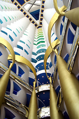 Burj 4 (it's wesley) Tags: hotel dubai uae burjalarab atrium foyer luxury unitedarabemirates 7star burj