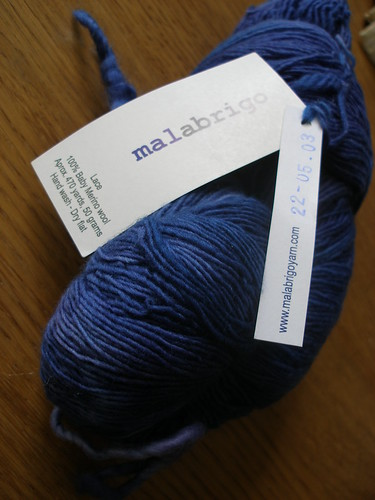 Malabrigo Lace - Indigo III