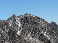 Close up shot of McClellan Peak, as seen from the summit of Devils Head (Pt. 6666) 7.29.07.