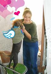BArri & JEss (uvalimon.com) Tags: dog pet love angel kiss affection unusual hairless tenderness xoloitzcuintle xoloitzcuintli xolo dogwithouthair