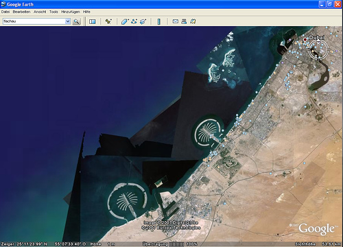 Dubai - Google Earth