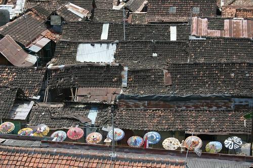 Roof tops. Yogyakarta.