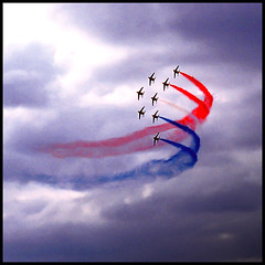 Patrouille de france!! (bigwhitefish) Tags: new trip travel color art nature europe shiningstar patrouilledefrance flickrsbest colorphotoaward bigwhitefish funfanphotos