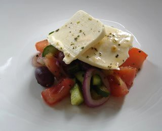 Almost Greek salad