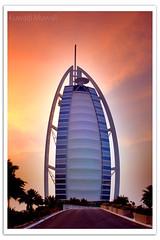 Burj Al Arab (Hussain Shah.) Tags: clouds d50 nikon dubai uae sigma burjalarab  jumaira  28105mm   aplusphoto