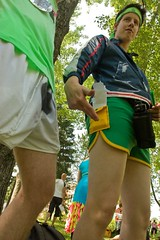 Alex and Raph can be proud of their short shorts. (RAVID DOGER) Tags: light shadow two men colors outside clothing day natural legs fine young vivid sunny short shorts bandana eighties secondhand nineties tracksuit questionable initiations parlonsfranaisvoulezvous
