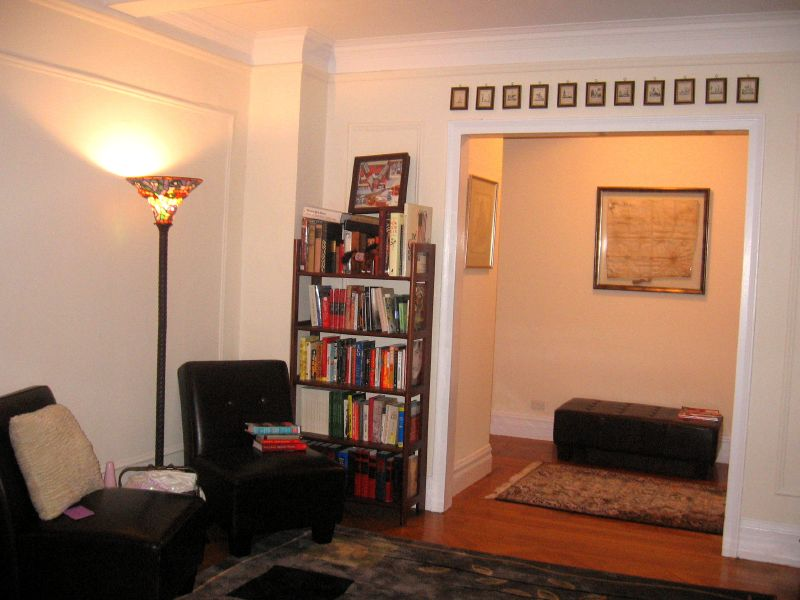 living room&foyer