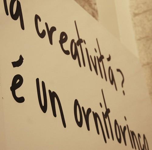 La creatività? È un ornitorinco.