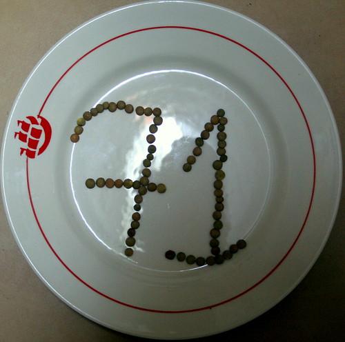 71 green lentils