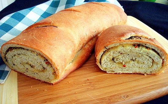 Herby Swirl Bread