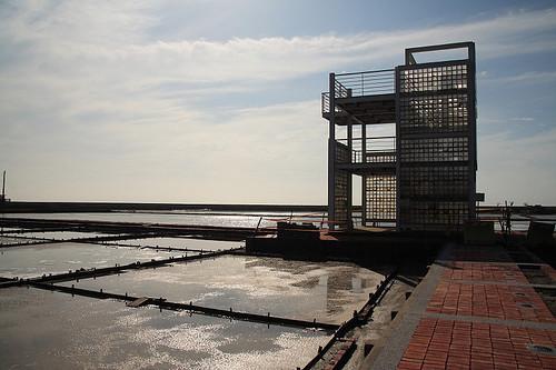 仿舊日鹽警碉堡