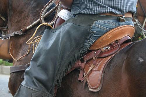 Cowboy details.