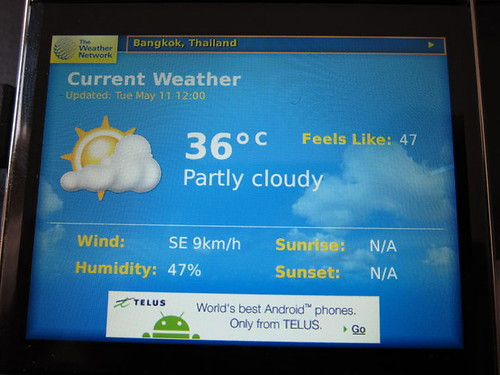 weather in Bangkok