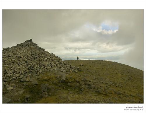 Great Cairn, Slieve Donard