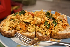 another scrambled tofu