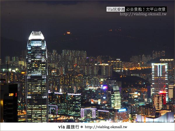 【香港自由行】必推!內有百萬夜景~香港太平山夜景29