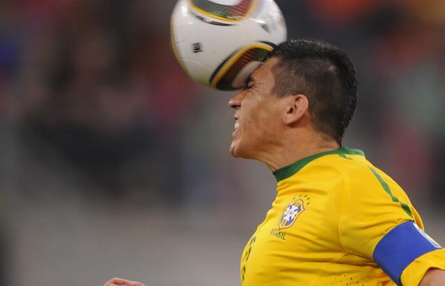 Brasil Lucio Mundial Fútbol