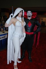 Ghost and Mister Sinister (BelleChere) Tags: comics costume cosplay ghost megacon marvel darkhorse bellechere mistersinister