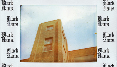 "Polaroid ""Black Haus"" 500 film"