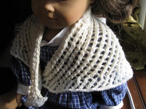 Doll's Lace Shawl