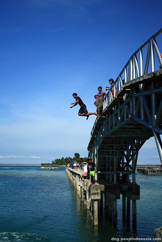 Tidung Island - Jump!