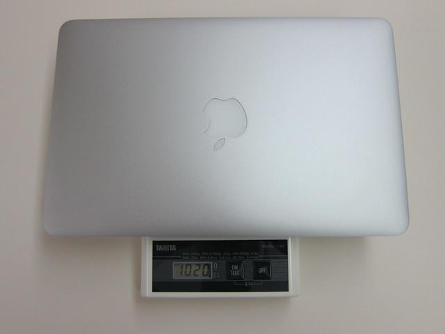 MacBook Air Weight