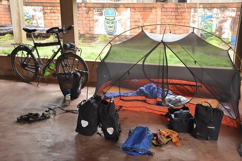 Sleeping in Ouidah
