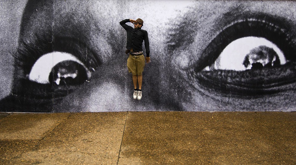 5127018327 ec4bf3d8fd b Artist JR   Street art raising questions across the world [24 Pics]