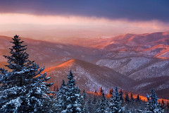 COLD MOUNTAIN SUNRISE -- Blue Ridge Parkway, NC (Light of the Wild) Tags: ice sunrise wintersunset northcarolina cashiers blueridgemountains blueridgeparkway appalachiantrail graveyardfields greatsmokymountains appalachianmountains firstlight wnc stormlight jacksoncounty greatsmokies devilscourthouse westernnorthcarolina landscapephotography reddawn haywoodcountync gradnd sylvanc haywoodcounty graduatedneutraldensity hotaling graduatedndfilter jacksoncountync colorfulsunrise blueridgeparkwaysunrise blueridgeparkwaysunset lightofthewild coldmountainsunrise