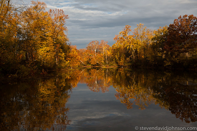 Autumn reflections on the Shenandoah, North Fork
