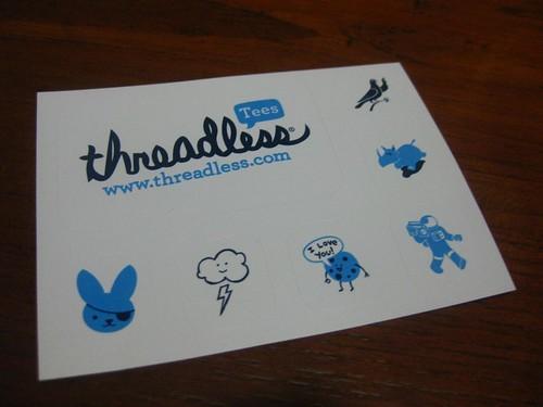 Threadless has new stickers!