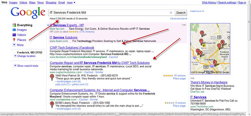 Local SEO Ranking for IT Services Frederick Md