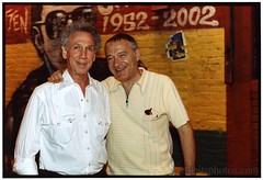 Chris Salewicz and Bob Gruen